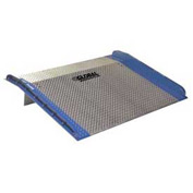 Bluff® AC6060 Aluminum Dock Board with Steel Curbs 60 x 60 10,000 Lb. Cap.