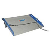 Bluff® 10SC6060 Steel Dock Board with Steel Curbs 60 x 60 10,000 Lb. Cap.