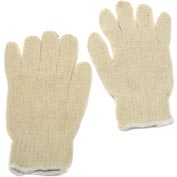 Dozen Women String Gloves Non-Grip