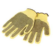 Honeywell Perfect Fit® 100% Kevlar® fiber Medium Weight, PVC Dots, Mens' Size, 1 Pair