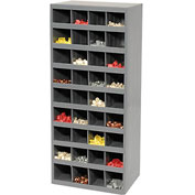 Durham Steel Storage Parts Bin Cabinet 358-95 Open Front - 36 Compartments