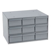 Durham Steel Storage Parts Drawer Cabinet 004-95 - 9 Drawers