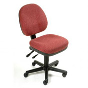 Task Chair - Fabric - Burgundy