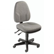 Multifunction Office Chair - Fabric - Gray