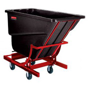 Rubbermaid® 1064-43 1-1/2 Cu. Yd. Self-Dumping Hopper with Caster Base