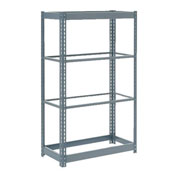 "Heavy Duty Shelving 36""W x 12""D x 60""H With 4 Shelves, No Deck"
