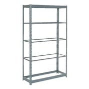 "Heavy Duty Shelving 36""W x 12""D x 96""H With 5 Shelves, No Deck"