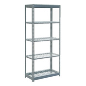 """Heavy Duty Shelving 36""""W x 18""""D x 60""""H With 5 Shelves, Wire Deck"""