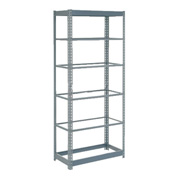 "Heavy Duty Shelving 36""W x 18""D x 84""H With 6 Shelves, No Deck"