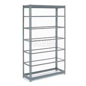 "Heavy Duty Shelving 48""W x 24""D x 84""H With 7 Shelves, No Deck"