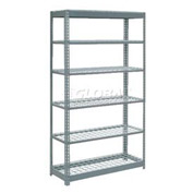 "Heavy Duty Shelving 48""W x 18""D x 84""H With 6 Shelves, Wire Deck"