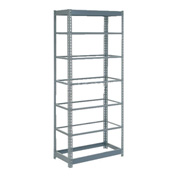"Heavy Duty Shelving 36""W x 12""D x 96""H With 7 Shelves, No Deck"