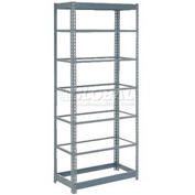 "Heavy Duty Shelving 36""W x 24""D x 96""H With 7 Shelves, No Deck"