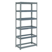 "Extra Heavy Duty Shelving 36""W x 12""D x 96""H With 6 Shelves, No Deck"