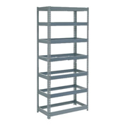 "Extra Heavy Duty Shelving 36""W x 18""D x 96""H With 7 Shelves, No Deck"