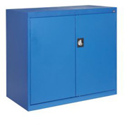 Sandusky Elite Series Counter Height Storage Cabinet EA2R462442 - 46x24x42, Blue