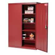 Sandusky Elite Series Storage Cabinet EA4R462472 - 46x24x72, Red