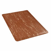 Marbleized Top 18x30 Mat Brown