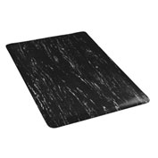 Marbleized Top 24 Inch Wide Mat Black