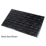 Marbleized Top Matting 4 Ft X 60 Ft Roll Black