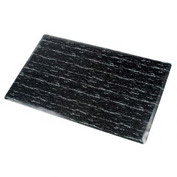 Marbleized Top Matting 3 Ft Wide Black