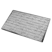 Marbleized Top Matting 4 Feet Wide Gray