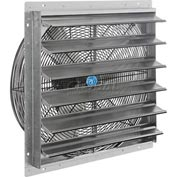 "Exhaust Ventilation Fan With Shutter 24"" Single Speed With Hardware"