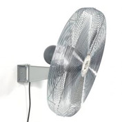 TPI 294546,24 Inch Wall Mount Fan Non Oscillating Gray 1/2 HP 5600 CFM 1 PH Totally Enclosed Motor