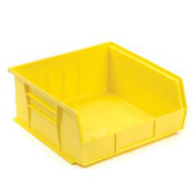 Akro-Mils 30235 Yellow Bins Case of 18 for Two-In-One Plastic Stock & Utility ProCarts - Pkg Qty 18