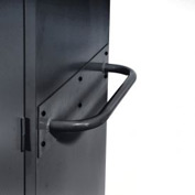 Sandusky Cabinet Push Handle TSH, Charcoal