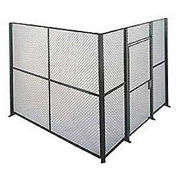 Husky Rack & Wire EZ Wire Mesh Partition Component Panel 1'Wx8'H