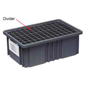 Quantum Conductive Dividable Grid Container Short Divider - DS91035CO, Sold Pack Of 6