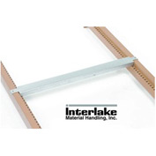 "48""D Double Flange Cross Bar Interlake Mecalux Pallet Rack"