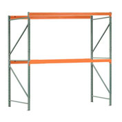 "Interlake Mecalux Pallet Rack Tear Drop Starter 96""W x 42""D x 96""H"