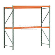"Interlake Mecalux Pallet Rack Tear Drop Starter 120""W x 48""D x 144""H"