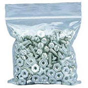 "Zipper-Lock Poly Bags 7"" x 5"" 2 Mil 1,000 Pack"