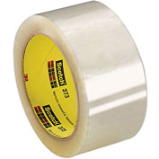 "3M™ Scotch® 373 Carton Sealing Tape 2"" x 55 Yds. 2.5 Mil Clear - Pkg Qty 36"
