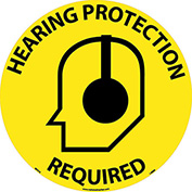 Floor Signs - Hearing Protection Required