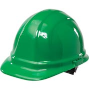 ERB™ 19958 Omega II Hard Hat, 6-Point Ratchet Suspension, Green