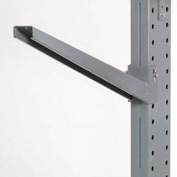 "Cantilever Rack Inclined Arm, 18"" L, 2500 Lbs Capacity"