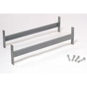 "Cantilever Rack Horizontal Brace Set, 72"" W, For 16' H Uprights, 16' H Uprights"