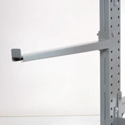 "Cantilever Rack Straight Arm With 2"" Lip, 42"" L, 1865 Lbs Capacity"