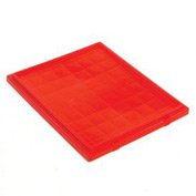 Akro-Mils Lid 35191 For Nest & Stack Tote 35190, 35195, Red - Pkg Qty 6