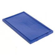 Akro-Mils Lid 35201 For Nest & Stack Tote 35200, Blue - Pkg Qty 6