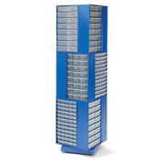 360 Degree Rotating Drawer Cabinet System with 192 Drawers