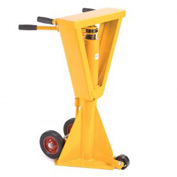 Heavy Duty Trailer Stabilizing Jack Stand 100,000 Lb. Static Capacity