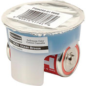 Rubbermaid® Automatic Deodorizer Replacement Gel Cassette Ocean Breeze 6/Case - FG9C85010000