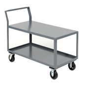 Jamco 2 Shelf All-Welded Heavy Duty Service Cart SL348 48 x 30 2000 Lb. Capacity