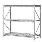 "Extra High Capacity Bulk Rack With Steel Decking 72""W x 24""D x 96""H Starter"