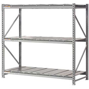 "Extra High Capacity Bulk Rack With Steel Decking 72""W x 36""D x 96""H Starter"